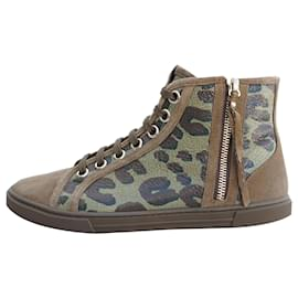 Louis Vuitton-Sneakers-Khaki