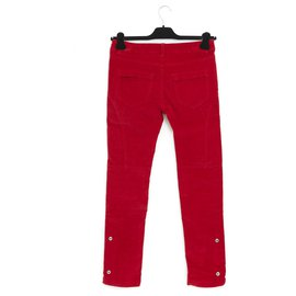 Zadig & Voltaire-velvet red fr36-Rouge