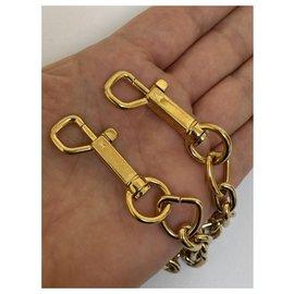 Louis Vuitton-Bracelet chaîne en acier doré Louis Vuitton-Bijouterie dorée
