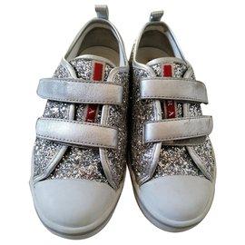 Prada-Glitter-Silvery