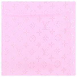 Louis Vuitton-Écharpe Louis Vuitton-Rose