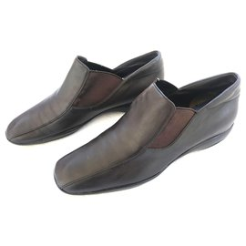 Prada-Loafers Slip ons-Brown