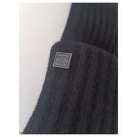 Chanel-Mitaines Chanel-Noir