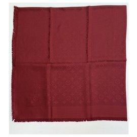 Louis Vuitton-Foulards de soie-Rouge