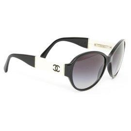 Chanel-BLACK WHITE JACKIE-Noir,Blanc