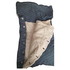 Baby Dior-Baby Dior sleeping bag / blanket-Blue