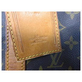 Louis Vuitton-keepall 50 monogram shoulder strap-Brown
