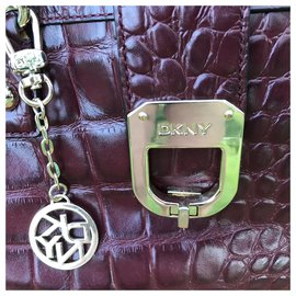 Dkny-Hand carried-Dark red