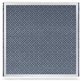Louis Vuitton-LV Shawl nouveau denim-Bleu