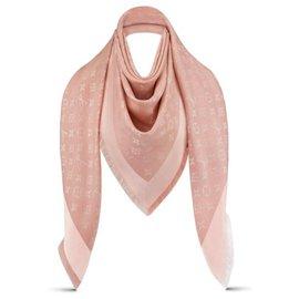 Louis Vuitton-Châle LV nouveau-Rose