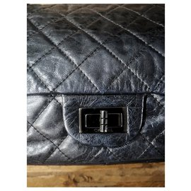 Chanel-Chanel 2.55 Reissue 227 classic bag-Black