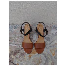 Chloé-Sandals-Brown,Black
