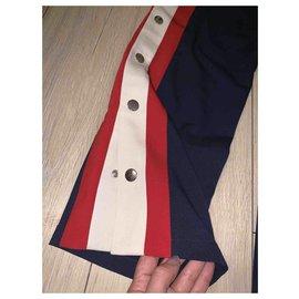 Gucci-tailleur pantalon-Bleu Marine