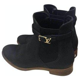 Louis Vuitton-boots-Noir