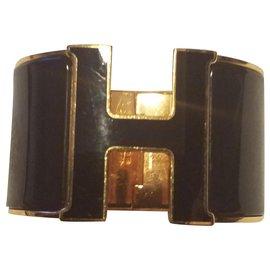 Hermès-Bracelets-Doré