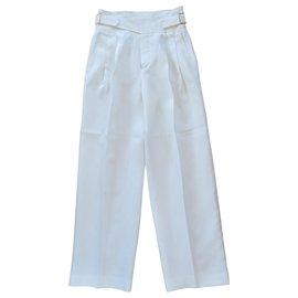 Chloé-Un pantalon, leggings-Blanc
