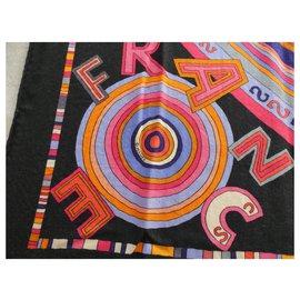 Hermès-Hermès cashmere and silk shawl, TOHU-BOHU model with its box-Other
