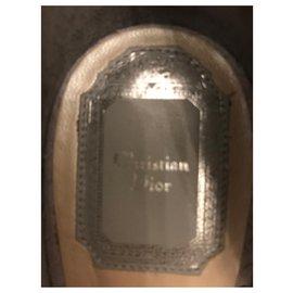 Dior-Escarpins gris-Gris