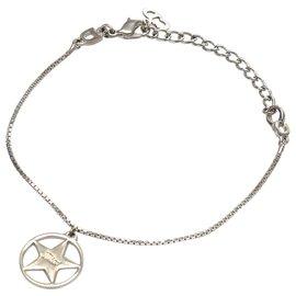 Dior-Dior Silver Silver-Tone Charm Bracelet-Silvery