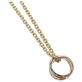 Cartier-Cartier Gold Trinity Necklace-Golden