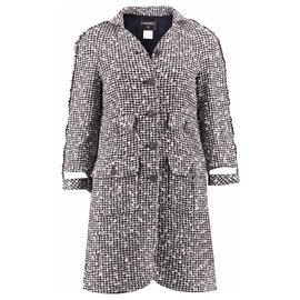 Chanel-pretty tweed coat-Multiple colors