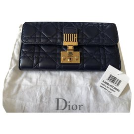 Christian Dior-Wallet addict-Dark blue