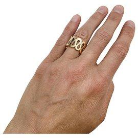 "Boucheron-Boucheron ring, ""Richelieu"", yellow gold.-Other"