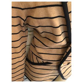 Whistles-Knitwear-Black,Caramel