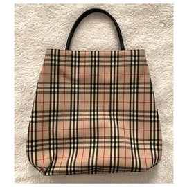 Burberry-Burberry London small tote-Multiple colors