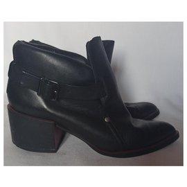 Alexander Mcqueen-Ankle Boots-Black