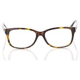 Chanel-Monture optique carrée écaille de tortue marron Chanel-Marron,Marron foncé