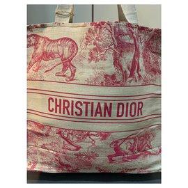 Dior-SAC DIOR BOOK RIVIERA NOUVEAU-Rouge