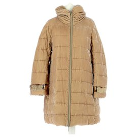 Twin Set-Down jacket / Parka-Beige