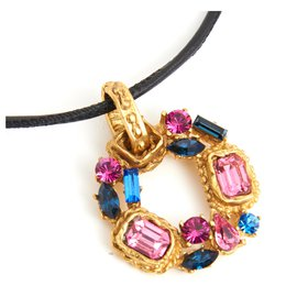 Christian Lacroix-COLORFULL PENDANT-Golden