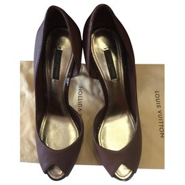 Louis Vuitton-High heel-Brown