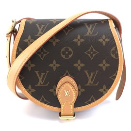 Louis Vuitton-Louis Vuitton Tambourin Neo Monogram Canvas-Brown