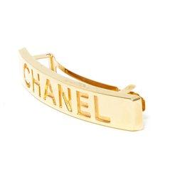 Chanel-MEDIUM GOLDEN BAR HAIR CLIP-Golden