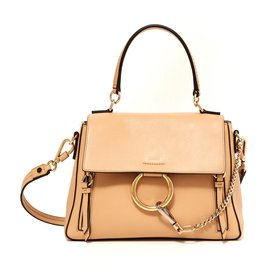 Chloé-FAYE DAY BEIGE MEDIUM NEW-Beige
