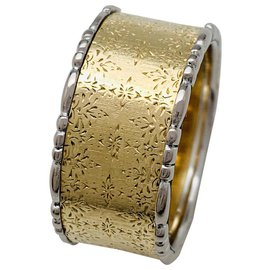 Buccellati-Buccellati ring in yellow and white gold.-Other