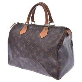 Louis Vuitton-Louis Vuitton Speedy 35-Brown