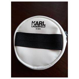 Karl Lagerfeld-Wallet-White