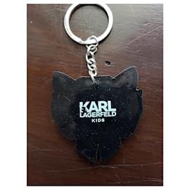 Karl Lagerfeld-CHOUPETTE key ring-Other