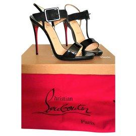 Christian Louboutin-Christian Louboutin Beltega Sandals-Black