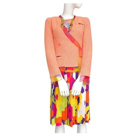 Chanel-Jacket, Skirt, top-Multiple colors