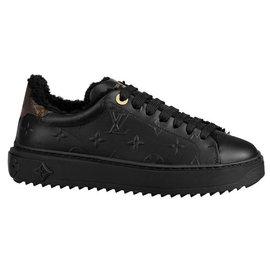 Louis Vuitton-LV sneakers Time Out-Black