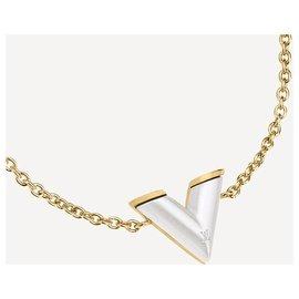 Louis Vuitton-Bracelet LV nouvelle perlfection-Doré