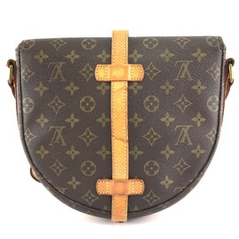 Louis Vuitton-Louis Vuitton Chantilly Monogram Canvas-Brown