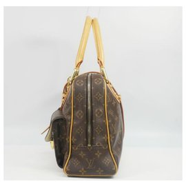 Louis Vuitton-LOUIS VUITTON Manhattan GM Womens Boston bag M40025-Other