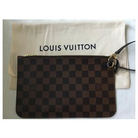 Louis Vuitton-Neverfull GM Damier Ebene-Chocolate