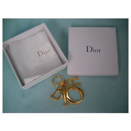 Dior-Bag charms-Golden